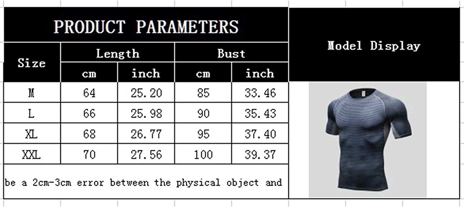 Mens Quick Dry 3D T-Shirts Workout Short Sleeve Printed Tees Gym Running Tops