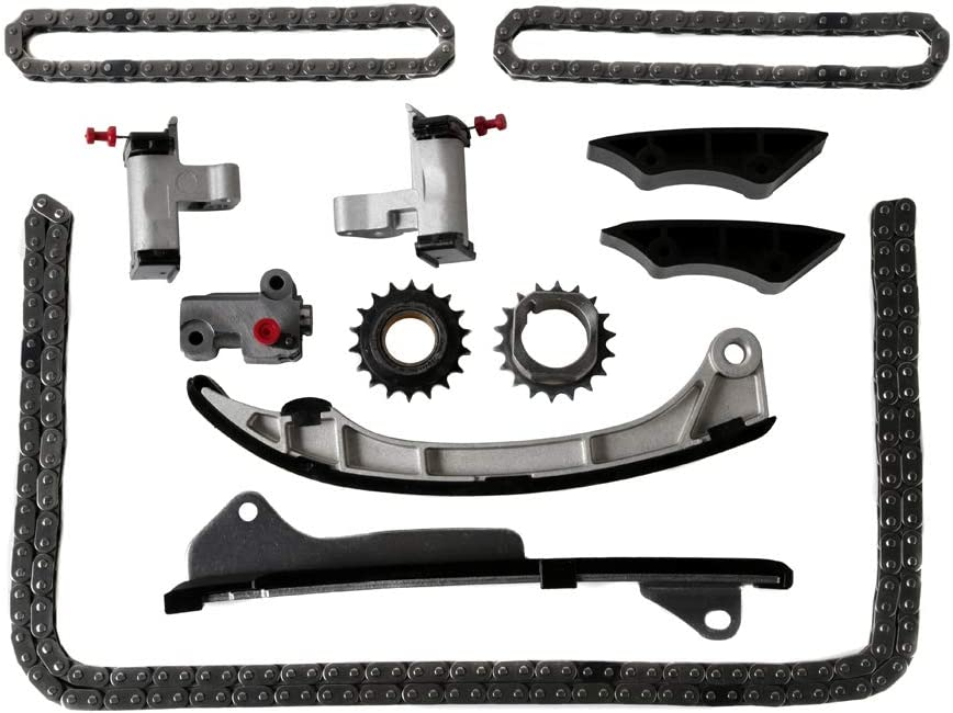 Timing Chain Kit Compatible with 06-10 Lexus IS250 2.5L 06-10 for Toyota RAV4 3.5L and More 2GRFE 07-10 for Toyota Camry 3.5L 07-13 Lexus ES350 3.5L