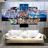 AMOHart Leinwanddrucke Moderne Wandkunst Dekoration 5