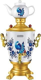 Russian Modern Electric Samovar Gzhel Teapot Set Art Design Tea Kettle Teakettle