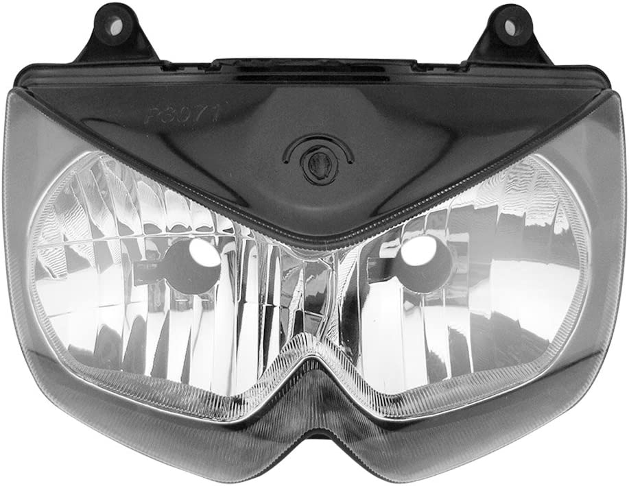 Mallofusa Motorcycle Deluxe Front Max 82% OFF Headlight Headlamp Compatibl Assembly