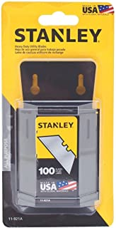 Stanley Tools 11-921A 100 Pc. 1992 Heavy Duty Utility Blades with Dispenser - 2 Pack