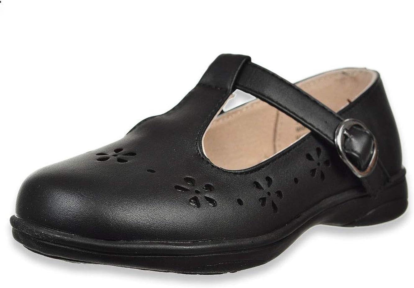 Laura Ashley Girls' T-Strap Mary Jane Shoes