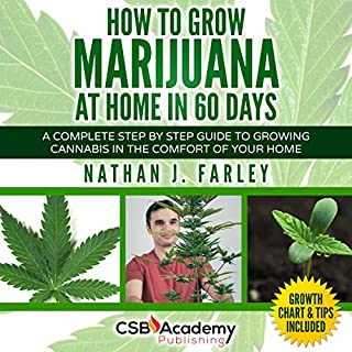 How to Grow Marijuana at Home in 60 Days audiobook cover art