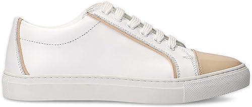 ELEVENTY Damen 980SR0052SCA2302902 Weißs Leder Turnschuhe