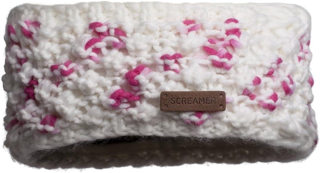 Screamer Women's Sherelle Headband, White/Rose, One Size