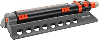 Gardena 34200 Comfort 3900-Square Foot Aqua Zoom Oscillating Sprinkler with Adjustable Width and Flow Control