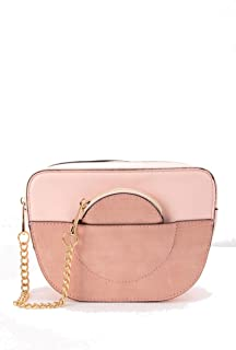 Pink Defacto Crossbody Shoulder Bag