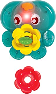 Playgro Light Up Squirty Bath Fountain, Multi