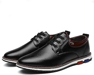 [Nomioce] ビジネスシューズ 紳士靴 レースアップ 通気性 通勤靴 メンズ フォーマル 冠婚葬祭 高級感 仕事用 ジム用 カジュアル