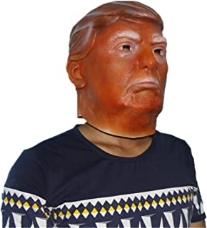 Donald Trump Mask Billionaire Presidential Costume Latex Cospaly Mask The USA President Trump Mask