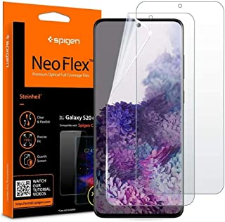 Spigen NeoFlex Screen Protector Designed for Samsung Galaxy S20 Plus (2020) [2 Pack] - Case Friendly
