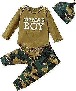 Newborn Unisex Baby Boy/Girls Clothes Sets Pants Sets Romper+Pants+Hat 3PCS Outfits Sets