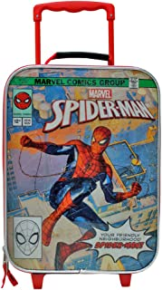 Comics Spider-Man Soft Side Trolley Kids Luggage Case 16 Inch
