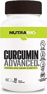 NutraBio Labs Curcumin Advanced, 60 V-Caps