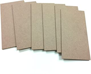 MDF Wood Craft Plaque Sign 5 x 10-inches, 6-Pack (SJT00072)