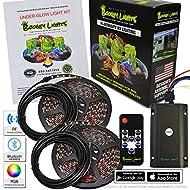 Boogey Lights KRV-VS-MC-BK-UGLOW-M7-HD Multi-Color Under-Glow LED Light Kit, 1 Pack