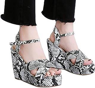Sandals Platforms & Wedges HTHJSCO Womens Wedge Platform