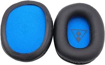 Prettyia Headphones Replacement Ear Pad/Ear Cushion/Ear Cups/Ear Cover Repair Parts for Turtle Beach Force XO7 Recon 50 Over-Ear Stereo Headphone
