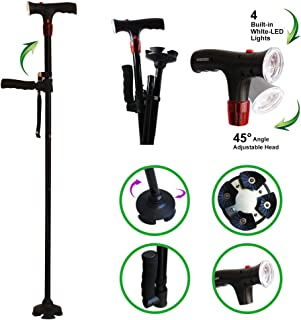 Best walking stick with light and alarm Reviews