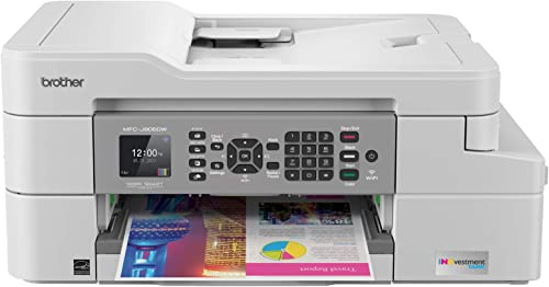 Brother MFC-J805DW INKvestmentTank Color Inkjet All-in-One Printer with Mobile Device and Duplex Printing with Up to ...