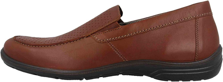 Jomos Men's Loafer Flats Brown Cognac
