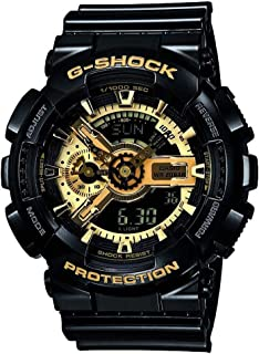 Casio Mens Quartz Watch, Analog-Digital Display and Resin Strap GA-110GB-1AER