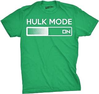 Hulk Mode On T Shirt Funny Comic Book Hilarious Workout Shirts