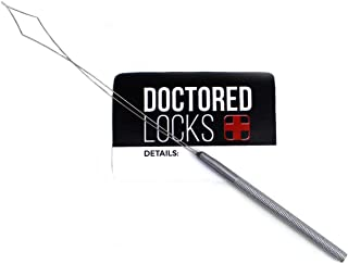 Doctored Locks MicroRing Stainless Steel Bead Loader Looper | Hair Extension Installation Tool
