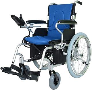 Inicio Accesorios Sillas de ruedas motorizadas para personas mayores discapacitadas Sillas de ruedas eléctricas ligeras e inteligentes de transporte plegable Silla de ruedas duradera Material de al