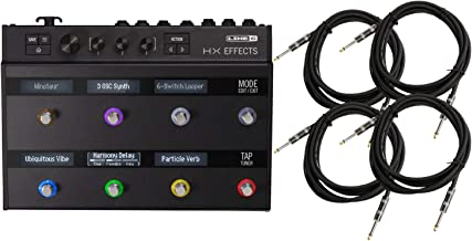 Line 6 99-040-3405 HX Effects Floor Multi FX Pedal w/Power Adapter, USB Cable,