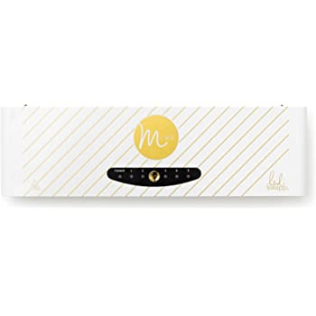 American Crafts Minc Foil Application Machine Starter Kit Includes Machine, one Transfer Folder, one Gold foil Sheet, and Three Tags   US Version
