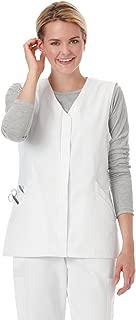 Fundamentals 14752 Women's Hidden Placket Scrub Vest