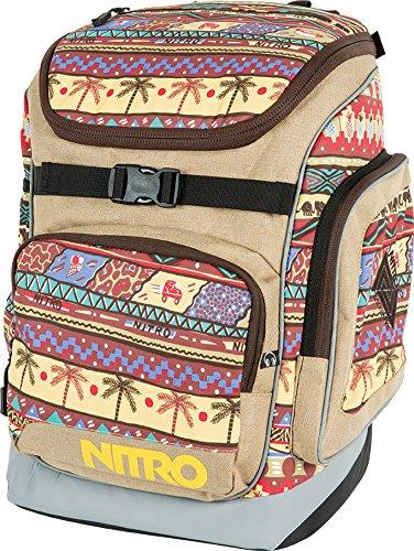 Nitro Rucksack Bandit - Mochila, Color Beige, Talla 49 x 32
