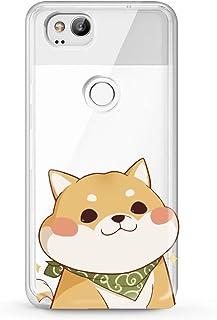 Lex Altern TPU Case for Google Pixel 3a 3 XL 2 inch 5 5.5 6 2019 Clear Kawaii Cute Shiba Inu Cover Adorable Print Protective lightweight Doggy Women Soft Silicone Transparent Flexible Teen Girl