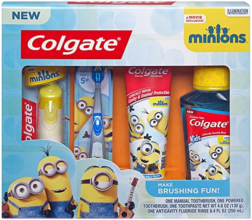 Colgate Kids Minions Oral Care Gift Set