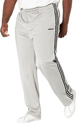 Big & Tall Essential 3-Stripes Open Hem Tricot Pants