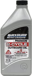 Quicksilver 20Q01-pk12 TC-W3 Premium 2 Cycle Oil - 16 oz, (Pack of 12)