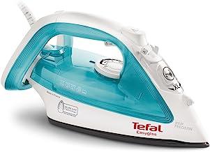 TEFAL Easygliss Steam Iron, 270 ml, 2200 Watts, Turquoise / white, Durilium, FV3910M0