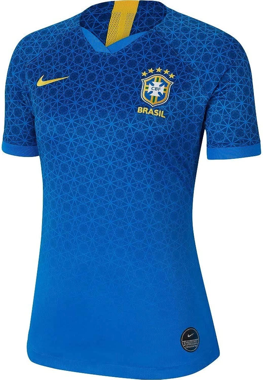 Nike 2019-2020 Brazil Away damen Football Soccer T-Shirt Trikot