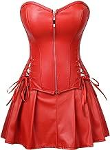 Best leather corset maxi dress Reviews