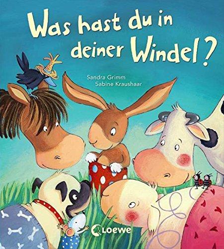 Was hast du in deiner Windel?: Bilderbuch mit vielen Klappen. Ein Buch zum Windel loswerden und Sauberwerden. Ab 2 Jahre