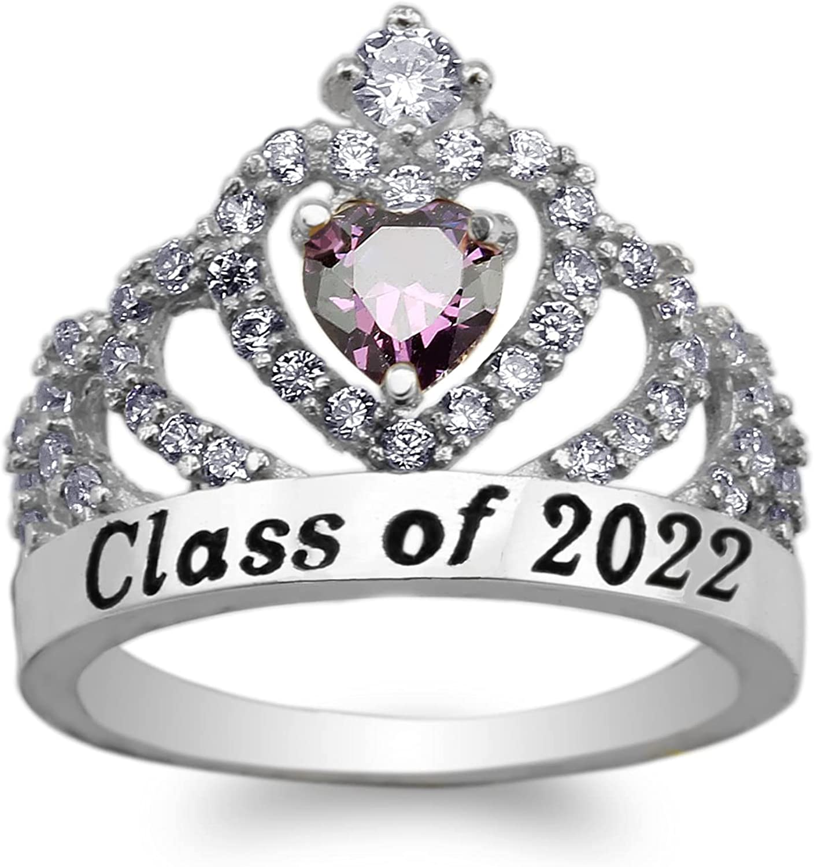 JamesJenny 925 Sterling Silver 今だけスーパーセール限定 Graduation Ri Class of Tiara 売却 2022