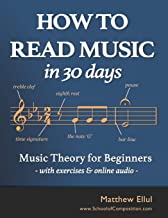 How to Read Music in 30 Days: Music Theory for Beginners - w