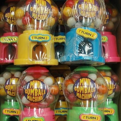 Sweets Mini Kaugummiautomat Box von 12