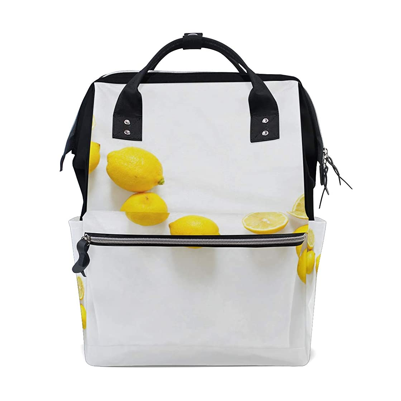Backpack American Lemon School Rucksack Diaper Bags Travel Shoulder Large Capacity Bookbag for Women Men