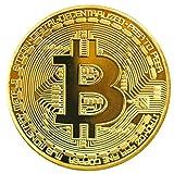 Shinekoo Dorado/ Plata / Cobre Plateado Bitcoin Moneda Collectible Gift BTC Coin Art Colección Físico