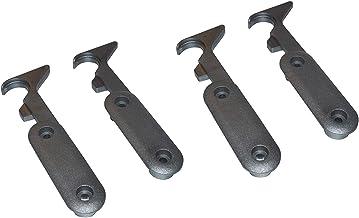 Gedotec Tafelverbinders, tafelbladverbinder, scheidbaar, set om te schroeven, TABLE T2, tweedelig, werkbladverbinder, kuns...