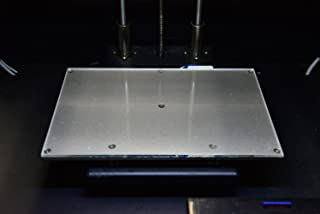 Borosilicate Glass Upgrade Kit for Flashforge/Qidi/Wanhao 3D Printers