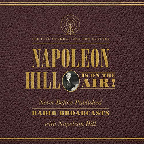 Napoleon Hill Is on the Air! cover art